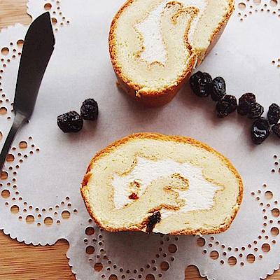 樂米工坊‧瑞士捲米蛋糕‧楓糖葡萄(462g/條,共兩條)