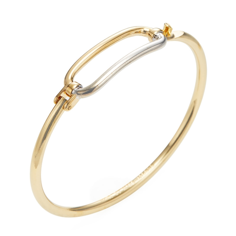 MARC BY MARC JACOBS金銀撞色造型手環