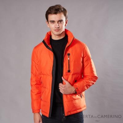 ROBERTA諾貝達 休閒時尚 羽絨保暖夾克外套 橘色