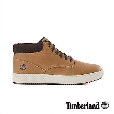 Timberland 男款小麥黃正絨面皮革休閒鞋|A1S5O