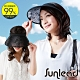 Sunlead 防曬涼感吸濕排汗立體長帽簷遮陽帽/中空帽 product thumbnail 1
