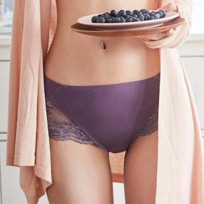 蕾黛絲-悠雅小妹大中腰內褲 L-EQ 莓果紫