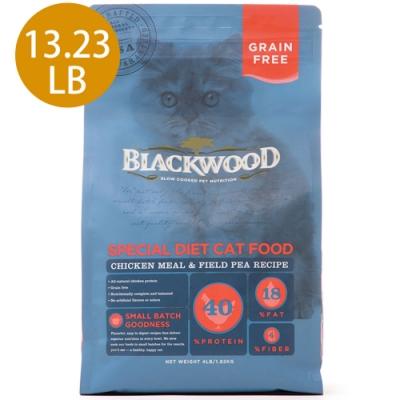 Blackwood柏萊富-特調無穀全齡貓配方(雞肉+豌豆)13.23LB