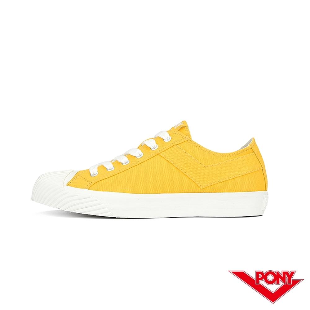 【PONY】Shooter系列 經典潮流高顏值百搭餅乾鞋 女款 蜂蜜檸檬黃