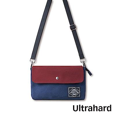 Ultrahard Masterpiece Map 雙層斜背包-紅藍