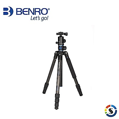 BENRO百諾 GC168TV1 GoTravel系列反折碳纖維三腳架套組