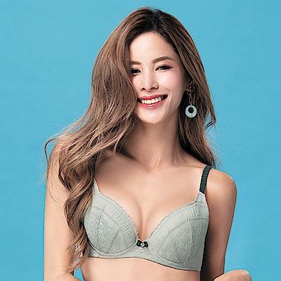 莎薇-O感覺好儷hide  B-C 罩杯內衣(灰綠)舒適柔感塑型