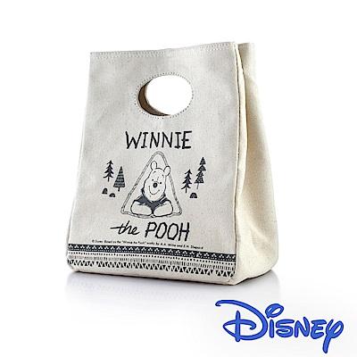 迪士尼Disney 野餐維尼手提保冷保溫帆布袋/2款可選(快)