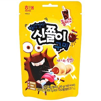 HAITAI 爆漿夾心軟糖-可樂風味 (50g)