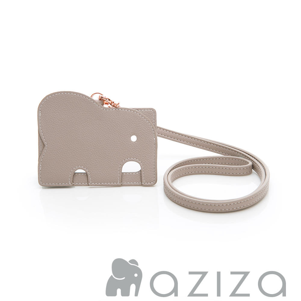 aziza 小象證件套-灰 product image 1