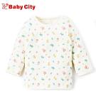 娃娃城BabyCity-有機棉長袖肩開上衣(米白)