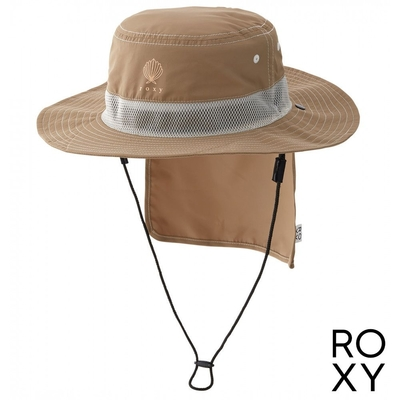 【ROXY】UV OUTDOOR HAT 戶外運動帽 卡其
