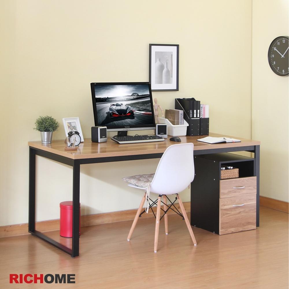 【RICHOME】杜克18080工作桌180x80x74