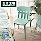 【618全店慶 全館5折起-生活工場】Noah寬背單椅2入組-醉心藍 product thumbnail 1
