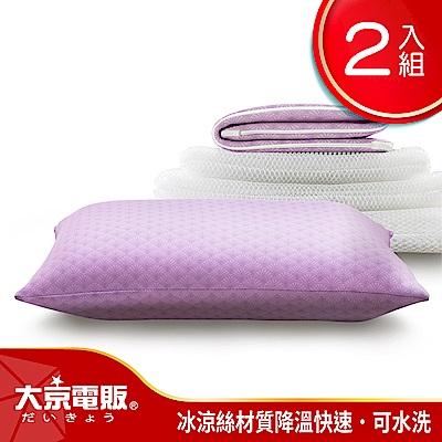 日本 大京電販 4D防螨涼感枕-超值2入
