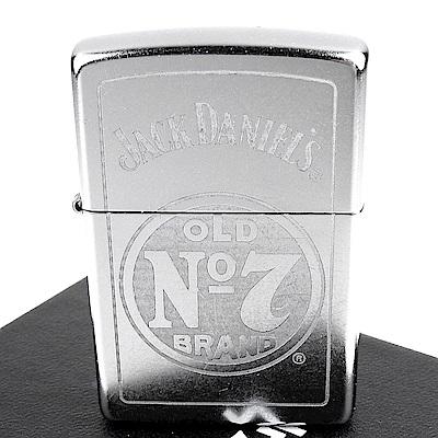 ZIPPO 美系~Jack Daniels威士忌-標誌圖案設計打火機