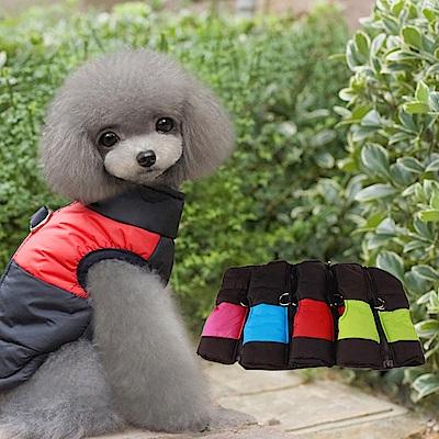 DYY》中.大型犬滑雪舖棉寵物扣環背心(5色).L.XL.XXL
