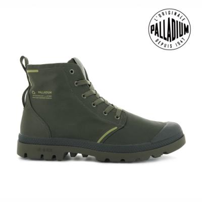 PALLADIUM PAMPA LITE+ RCYCL WP+再生纖維輕量防水靴-中性-綠