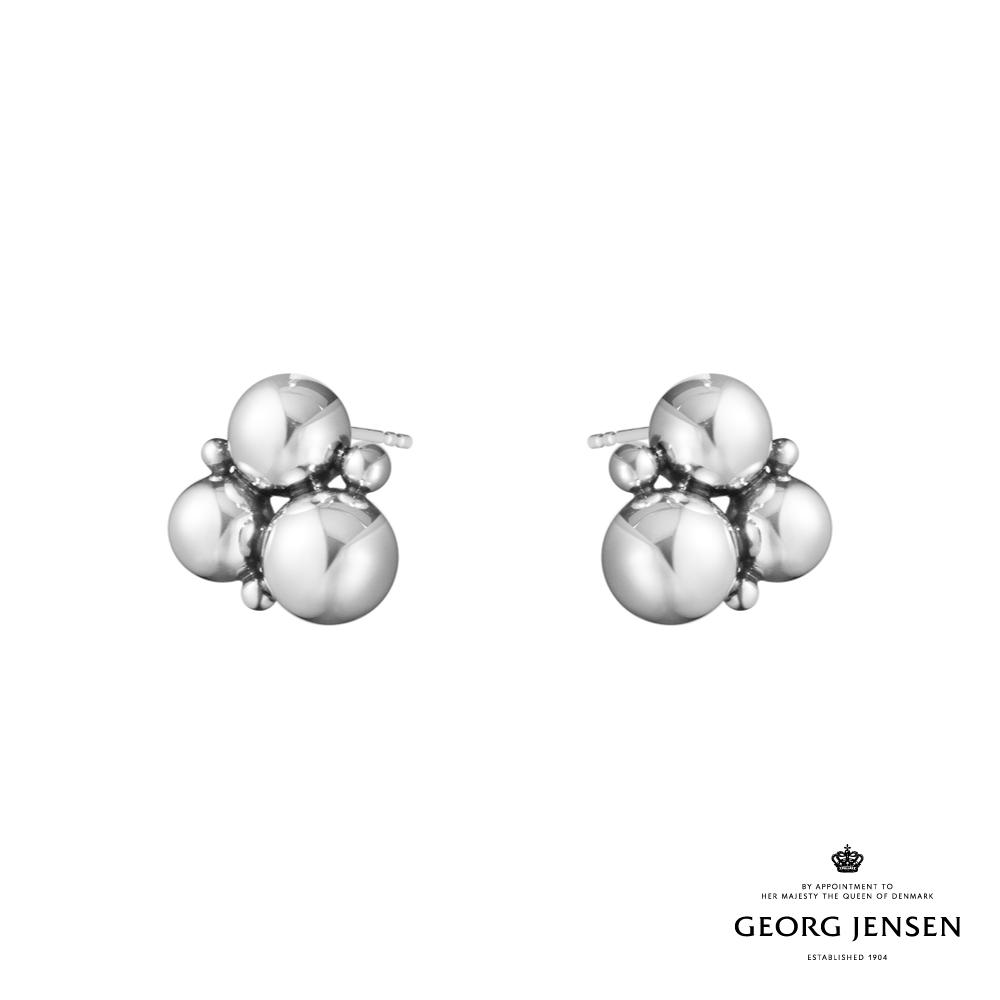 Georg Jensen 喬治傑生 MOONLIGHT GRAPES 硫化純銀耳環