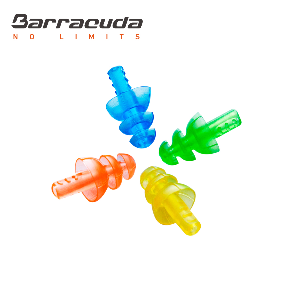 巴洛酷達 螺旋四色耳塞 Barracuda E015 TPR
