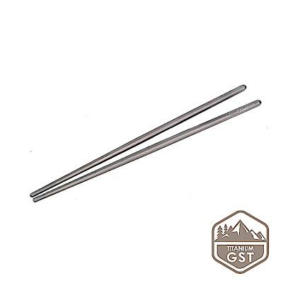 【GSTitanium】抗菌輕量純鈦筷子