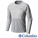 Columbia哥倫比亞 男款-防曬50長袖上衣-灰色 UAE01820GY