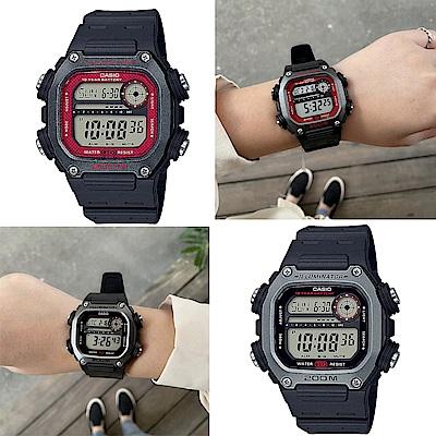 CASIO卡西歐 粗曠運動風格電子錶(DW-291H)-2色任選