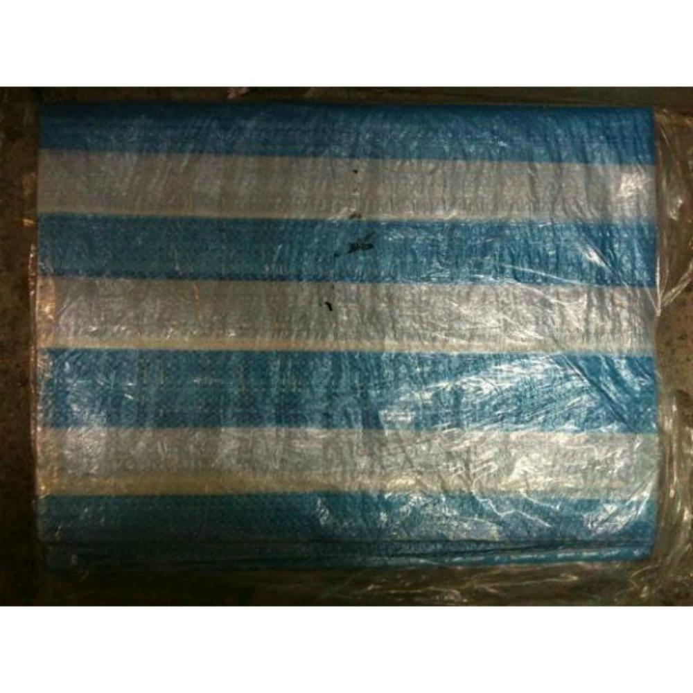 帆布 30X30 尺 藍白條帆布 藍白帆布 防水布