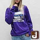 正韓 吸睛數位印圖純棉衛衣-(共四色)100%Korea Jeans