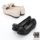 SM-透氣經典款真皮娃娃鞋2色