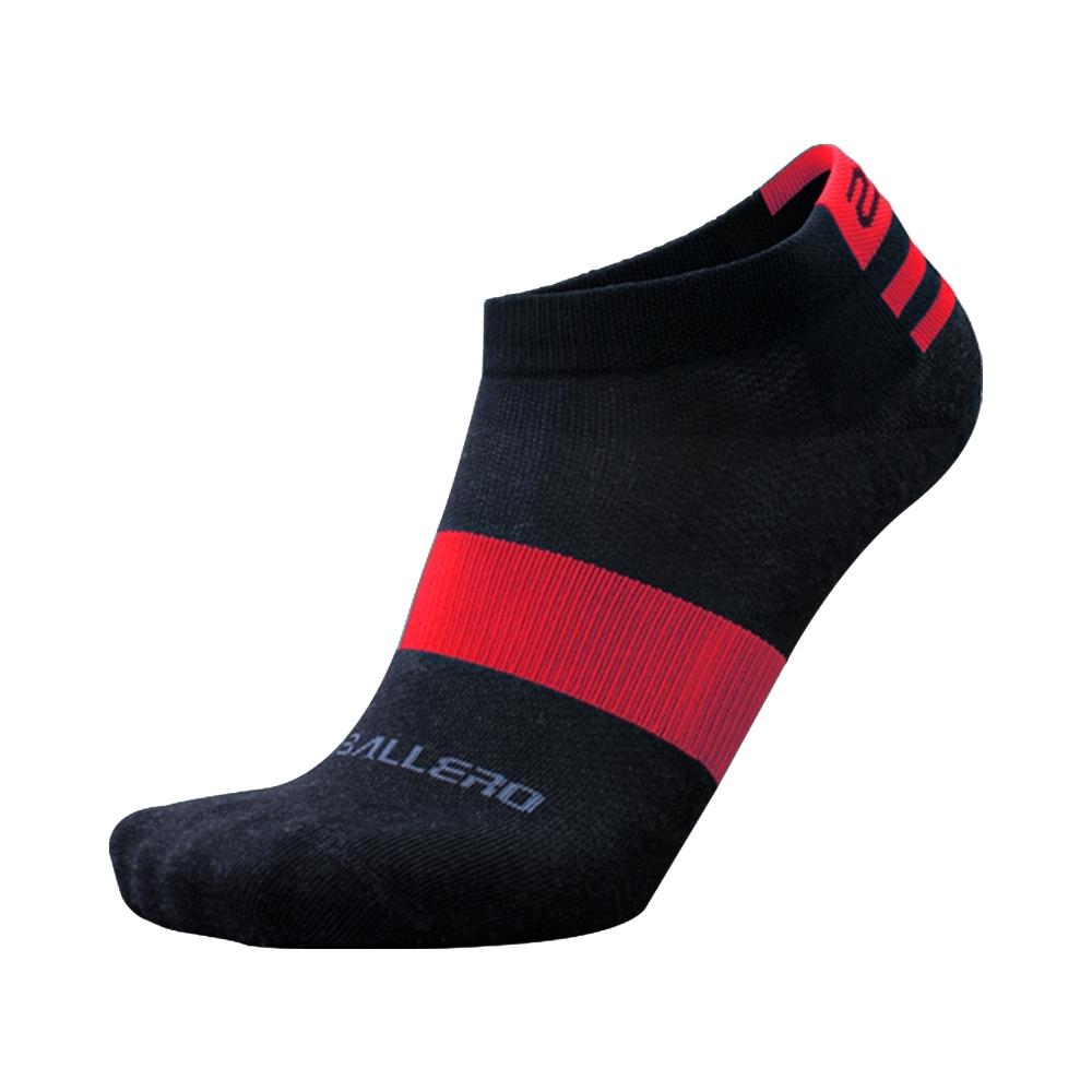 【2PIR】銀纖維抗菌除臭運動襪 超值三入組 焰紅