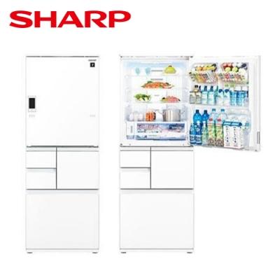 [下單再折] SHARP 夏普 502L 自動除菌離子變頻觸控左右開冰箱 星鑽白 SJ-WX50ET-W
