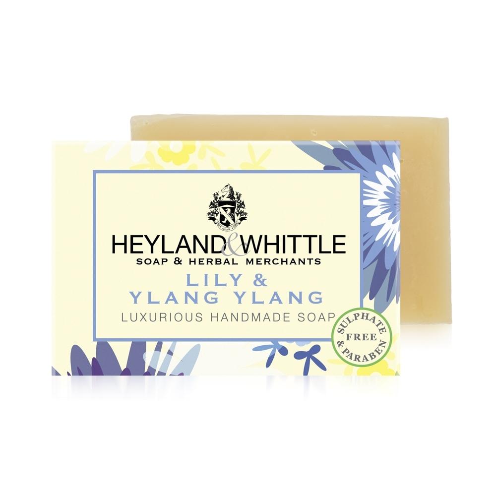 *H&W英倫薇朵 百合依蘭手工香氛皂120g