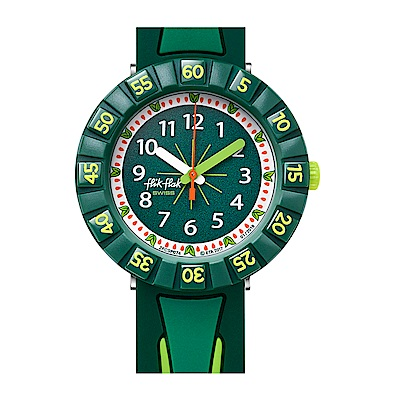 FlikFlak 兒童錶 ALL GREEN 綠野仙蹤手錶