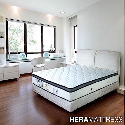 HERA Dorcas PU護邊乳膠三線獨立筒床墊 雙人5尺