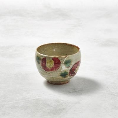 KOYOTOKI日本美濃燒 手感和風茶杯 - 山茶花-250ml