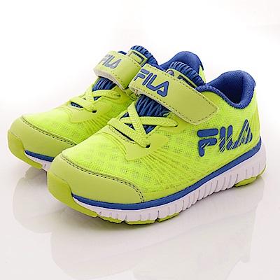 FILA頂級童鞋款 超輕機能穩定款 FO22R663綠藍(中小童段)0