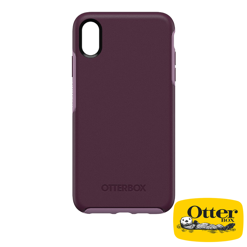 OtterBox iPhoneXS Max炫彩幾何系列保護殼-醇紫