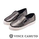 VINCE CAMUTO 百搭時髦素色懶人便鞋-銀色