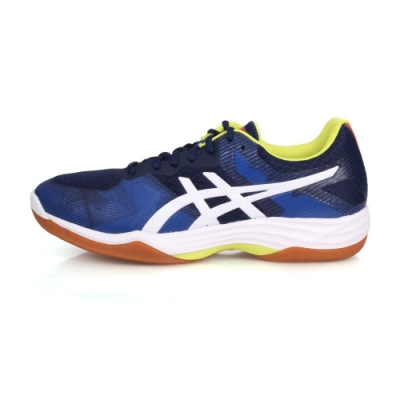 ASICS 男 排羽球鞋 GEL-TACTIC 深藍白