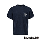 Timberland 男款深藍寶石藍寬鬆圓領短袖T恤|A21SR