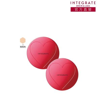 (2入組)INTEGRATE 透潤柔光粉底凍
