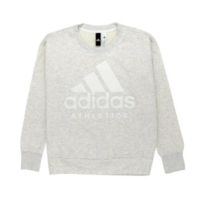 【時時樂限定】ADIDAS 女 Sport ID運動上衣 米白