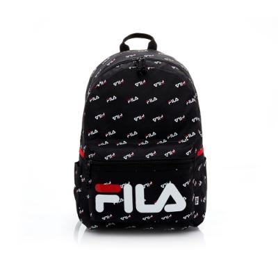 FILA LOGO後背包-黑 BPT-5603-BK