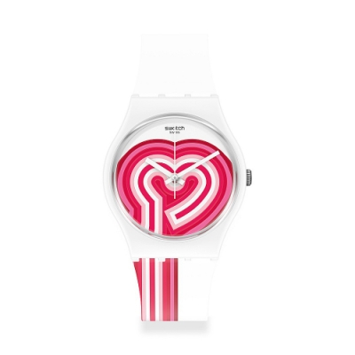 Swatch Gent 原創系列手錶 BEATPINK-34mm