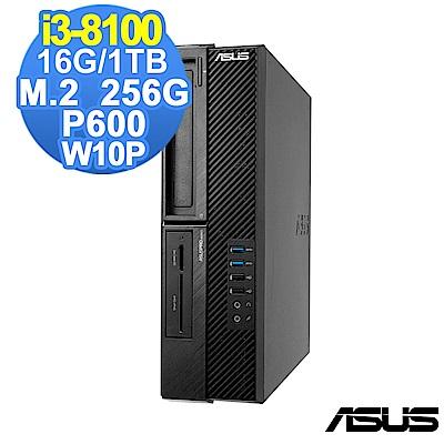 ASUS M640SA i3-8100/16G/1TB+256G/P600/W10P