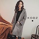 東京著衣-KODZ 女神姊姊小香風織紋雙口袋開襟外套-S.M.L(共一色)