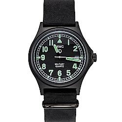 MWC瑞士軍錶 G10LM 316L PVD設計鍍不鏽鋼 -黑色/39mm