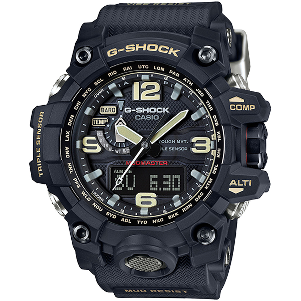 CASIO卡西歐G-SHOCK MASTER OF G極限腕錶(GWG-1000-1A) @ Y!購物