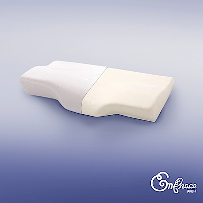Embrace英柏絲 柔軟體感 人體工學天絲護頸記憶枕 慢回彈冷壓記憶棉 支撐頸部